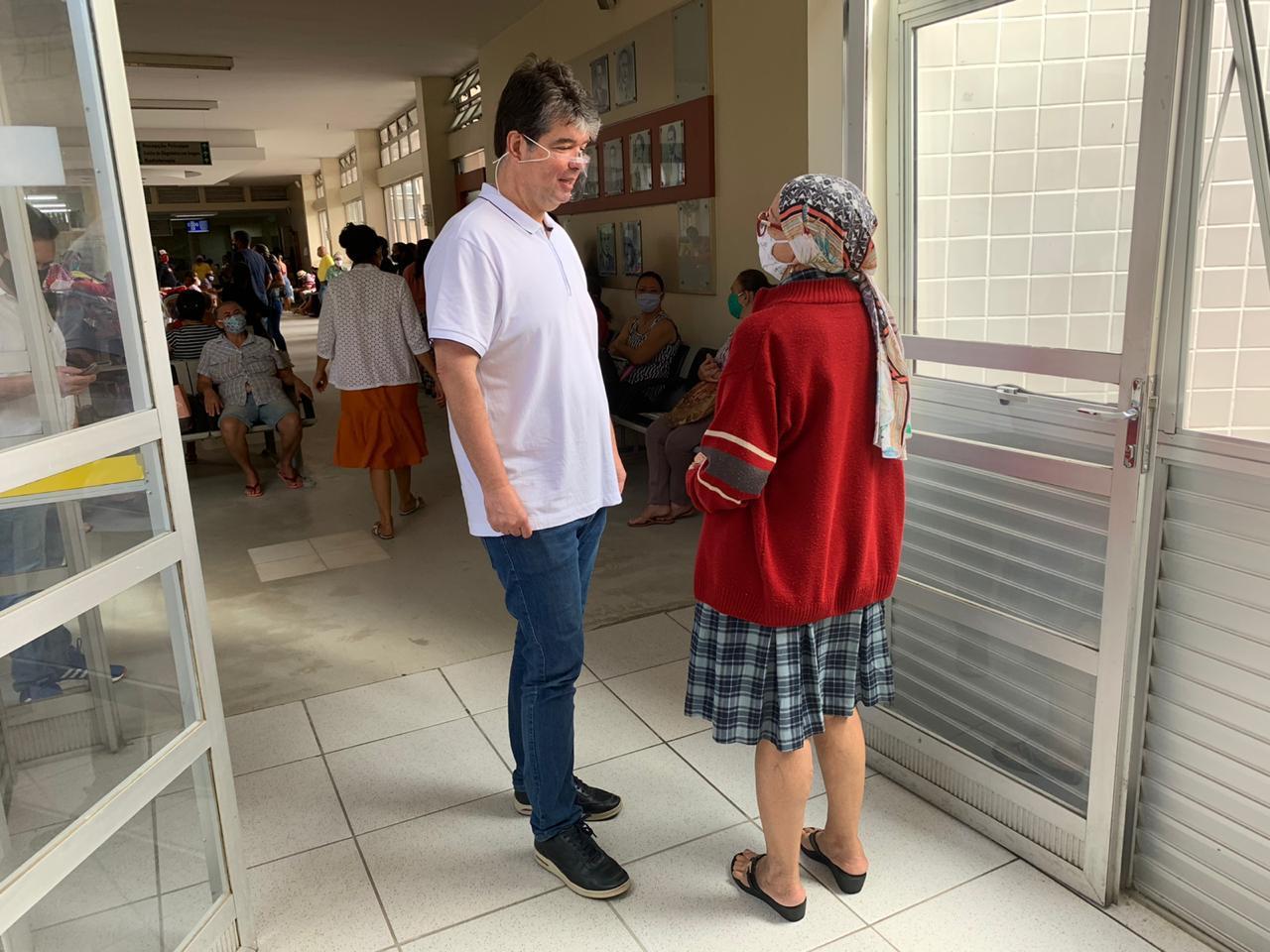 WhatsApp Image 2020 07 29 at 15.12.04 - Ruy faz visita técnica a nova ala de quimioterapia que ajudou a construir no Napoleão Laureano