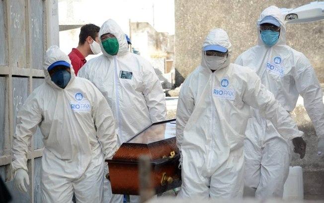 corona 1 - COVID-19: Brasil tem 3º dia seguido acima de 1,2 mil mortes e se aproxima de 70 mil