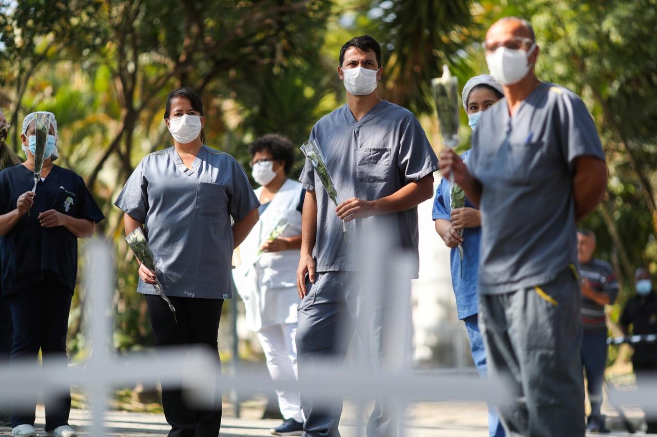 covid 5 - Brasil tem mais 614 mortes e 23.284 casos de covid-19 em 24 horas