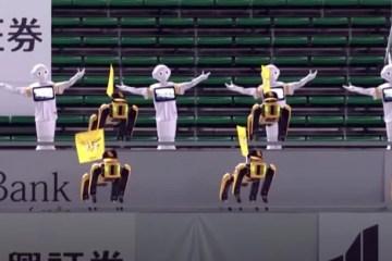 Time do Japão substitui torcedores por robôs; VEJA VÍDEO