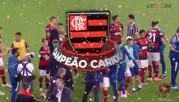 flamengo - Flamengo vence mais uma vez o Fluminense e conquista o bicampeonato carioca