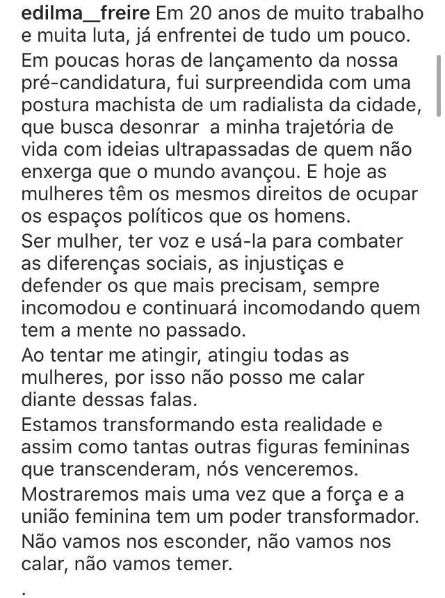 indexew - Secretaria de Políticas Públicas para Mulheres emite nota de repúdio contra o jornalista Gutemberg Cardoso - ENTENDA