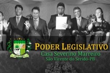 Vereadores aumentam os próprios salários em 24% em São Vicente do Serdó