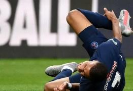 Paris Saint-Germain avança com o tempo de paragem de Mbappé