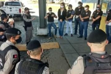 operação policia - Operação prende cinco suspeitos de roubo de cargas, na Paraíba