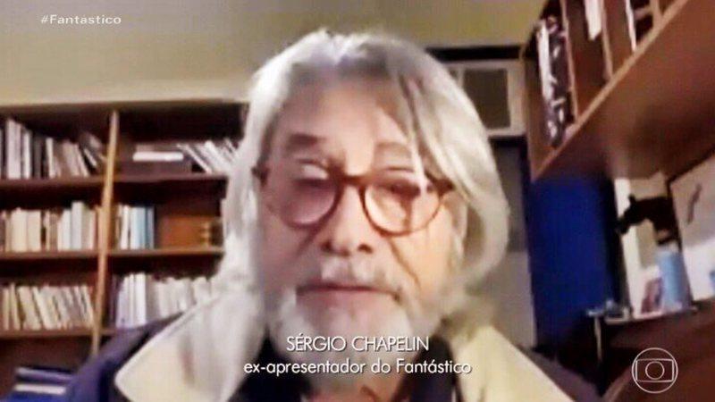 sergio chapelin fantastico widelg - Aposentado da Globo, Sérgio Chapelin surge com novo visual e é comparado a personagem de Dark