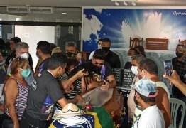 Cadela viaja mais de 300 km para velório de Pinto do Acordeon