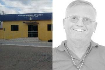 vereador tacima - Vereador paraibano renuncia a menos de 6 meses do fim do mandato e mandato cai de graça no colo do suplente