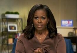 'Uma liderança de caos e sem empatia', diz Michelle Obama sobre Trump