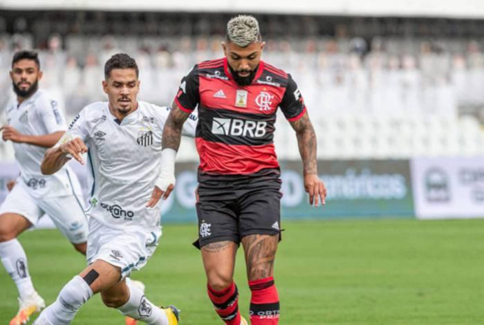1 gabigol 19281409 - Polêmico, jogo entre Flamengo e Santos bate recorde de audiência na Globo