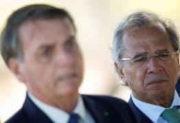 Economia de Guedes se afasta da política de Bolsonaro