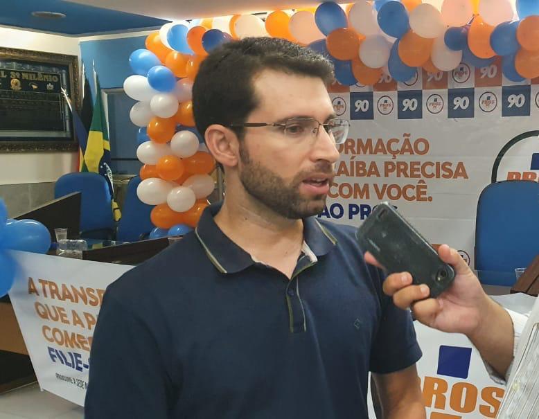 3ba3a514 4c4c 4d70 af59 878ae1eccd17 - Presidente do Pros é sondado para compor chapa como vice em João Pessoa