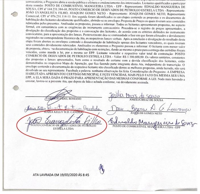 A - Candidato a prefeito de Triunfo estraria usando laranja para representar empresas de parentes e aliados em licitações no município