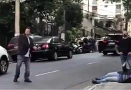 Ministro reage a assalto, corre armado e prende homem em São Paulo