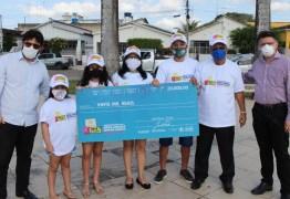 Cidadão de Sapé é o primeiro a ganhar prêmio de R$ 20 mil do Nota Cidadã