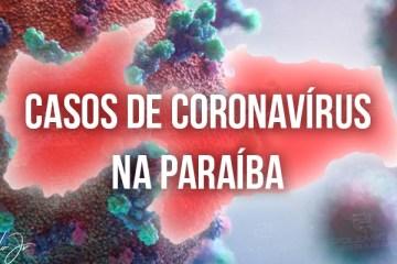 CORONAVÍRUS: Paraíba registra 856 novos casos e mais 8 óbitos em 24 horas