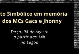 Ato público para protestar por mortes de MCs em João Pessoa acontece nesta terça-feira