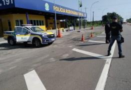 PRF e ANTT realizam Operação conjunta de combate ao transporte clandestino na Paraíba