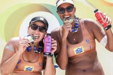 ana patriciarebecca celebra primeiro titulo brasileiro e destaca regularidade - Vôlei de praia: CBV anuncia datas do retorno do circuito nacional
