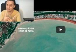 DENÚNCIA GRAVE: Falésia do Cabo Branco uma obra de 100 milhões cheias de erros afirma Pedro Nóbrega – VEJA VÍDEO