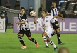 Santa Cruz vence o Botafogo-PB e assume a liderança na Série C