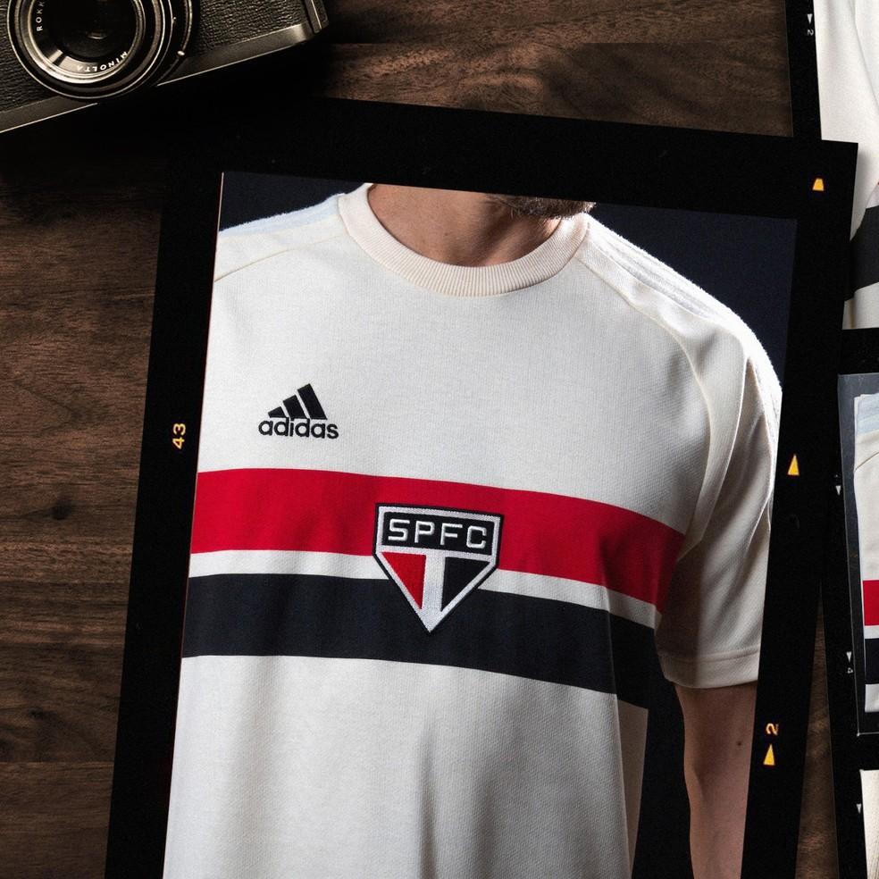 camisa 2 - Confira nova camisa retrô do São Paulo