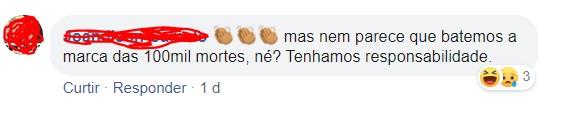 comentario - Prefeita de Pilõezinhos causa aglomeração nas ruas da cidade e responde criticas: 'não temos 100 mil mortes' - VEJA VÍDEOS