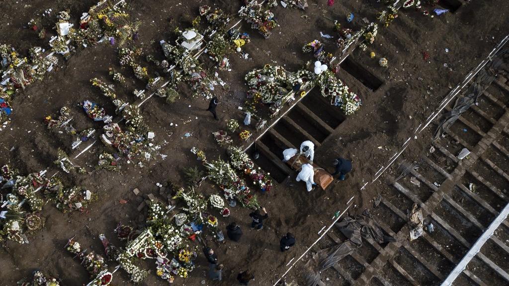corona 5 - Brasil passa da marca de 120 mil mortes pelo novo coronavírus