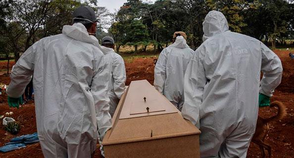 covid - COVID-19: Brasil conta 1.154 mortes em 24 horas e ultrapassa marca de 95 mil óbitos