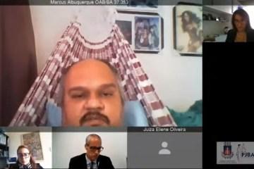 'NOVO NORMAL': Advogado participa de sessão virtual de tribunal deitado em rede; VEJA VÍDEO