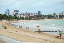 João Pessoa tem primeiro sábado com banho de mar liberado; veja tábua da maré