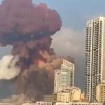explosao beirute - Grande explosão atinge Beirute, capital do Líbano - VEJA VÍDEO