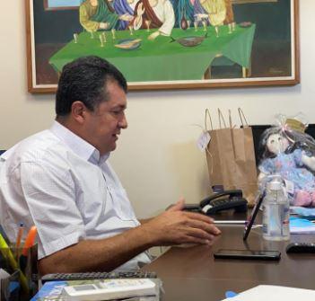 famu - Presidente da Famup participa de reunião com Aguinaldo Ribeiro e Rodrigo Maia para debater Reforma Tributária