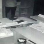 ladrão - GARGANTA CORTADA: ladrão morre acidentalmente ao tentar abrir o cofre de um banco