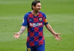 Diretoria do Barcelona afirma que discutir saída amigável de Messi do clube está fora de cogitação