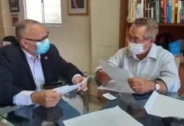 Ronaldo Beserra pede apoio ao senador Maranhão para PL que regulamenta carga horária dos profissionais de enfermagem