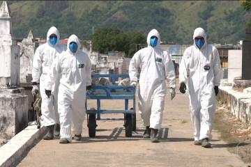 mortes - Brasil tem alta de 572 mortes por covid-19 em 24 horas; total passa de 101 mil