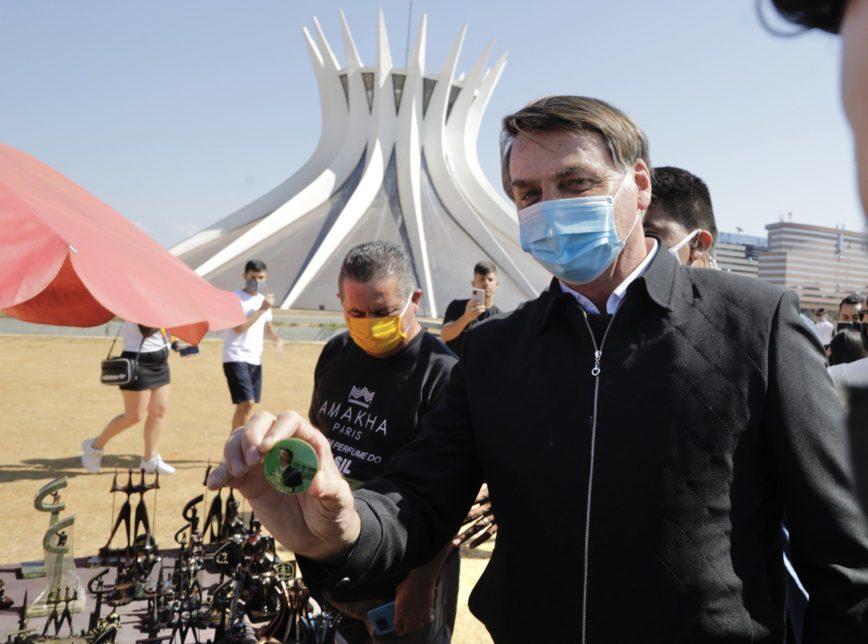 photo 2020 08 23 15.33.50 868x644 1 - 'Vontade de encher sua boca de porrada', diz Bolsonaro a repórter -VEJA VÍDEO