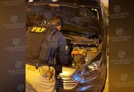 EM JOÃO PESSOA: PRF recupera veículo de locadora que nunca foi devolvido e era usado por motorista de aplicativo