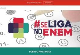 Se Liga no Enem abre inscrições para 1.500 vagas gratuitas, na Paraíba