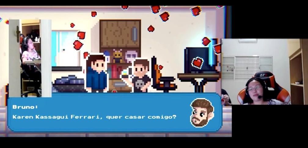 tup gamer casa3 - SORTE NO JOGO E NO AMOR: Publicitário cria game para pedir namorada em casamento
