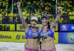 Brasileiras estão confirmadas em torneio de vôlei de praia na Holanda
