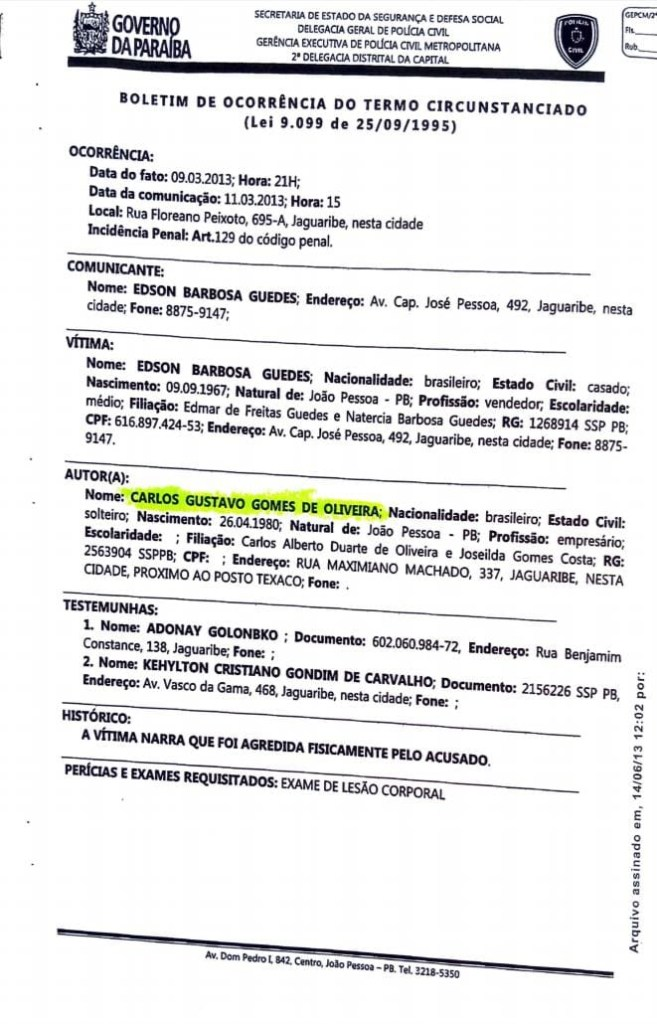 044b4601 8418 4c57 a2f9 a16350948c08 657x1024 - IMAGENS FORTES: Candidato a vereador de João Pessoa 'Guga de Jaguaribe' agride e ameaça morador do bairro de Jaguaribe