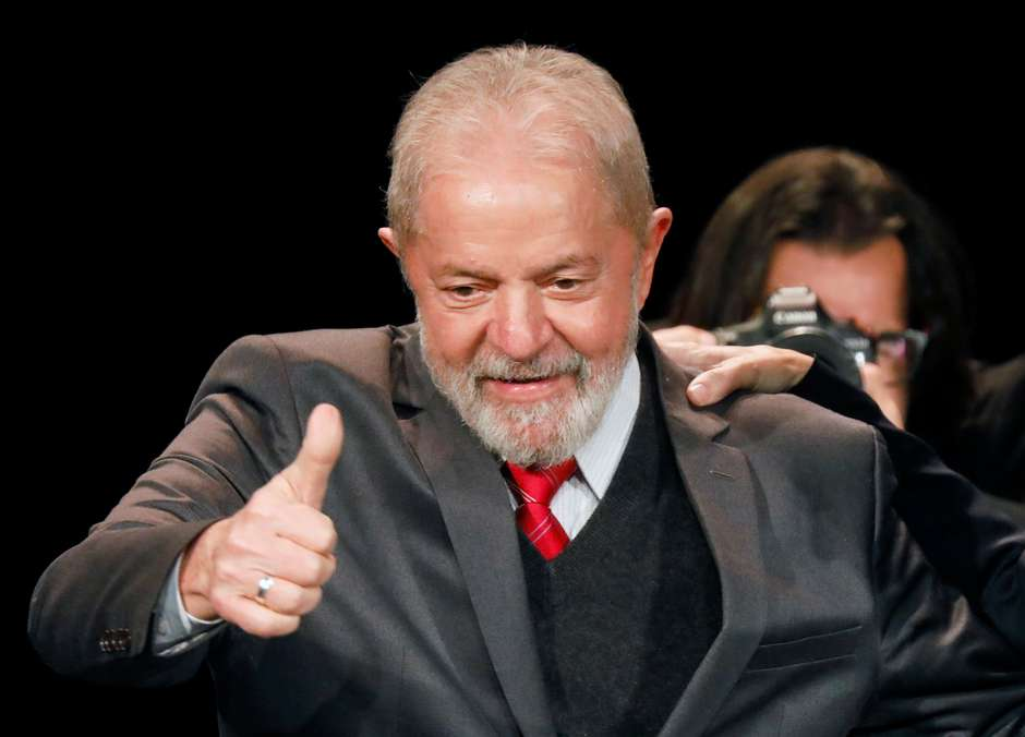 """2020 09 01T223657Z 1 LYNXMPEG803JX RTROPTP 4 FRANCE BRAZIL LULA - """"NÃO PRECISA SER DO PT"""": Lula se diz disposto a apoiar quem puder derrotar Bolsonaro"""