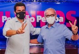 Cícero Lucena se compromete em incorporar propostas de Wilson Filho no plano de governo e recebe adesão do deputado