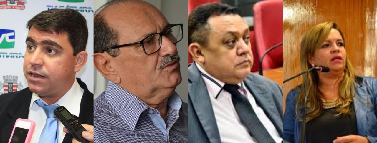BeFunky collage 2 - Em nota, vereadores do Avante dizem respeitar posicionamento do partido para as eleições municipais deste ano mas não citam o nome de Cícero Lucena- VEJA