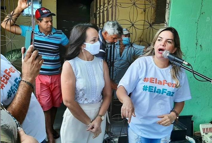 Vereadora do Avante participa de encontro com a candidata a prefeita da capital Edilma Freire