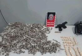 FLAGRANTE: Homem é preso com 2 mil embalagens com maconha em Santa Rita
