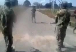 CENAS FORTES: Homens espancam e matam mulher