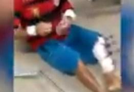 DENÚNCIA: Trauminha de João Pessoa não tem leitos suficientes e pacientes são obrigados a ficar no chão – VEJA VÍDEO